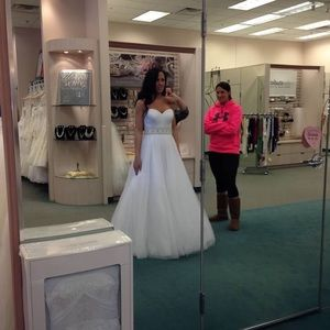 Wedding Dress! Size 8 and never worn